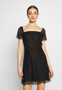 Fashion Union - TENDER - Denní šaty - black - 0