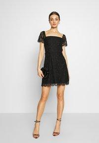 Fashion Union - TENDER - Denní šaty - black - 1