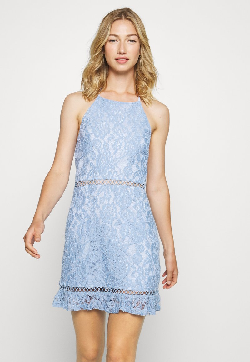 Fashion Union - MELLOW - Sukienka koktajlowa - blue