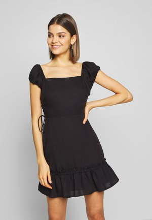 FRESIA - Denní šaty - black