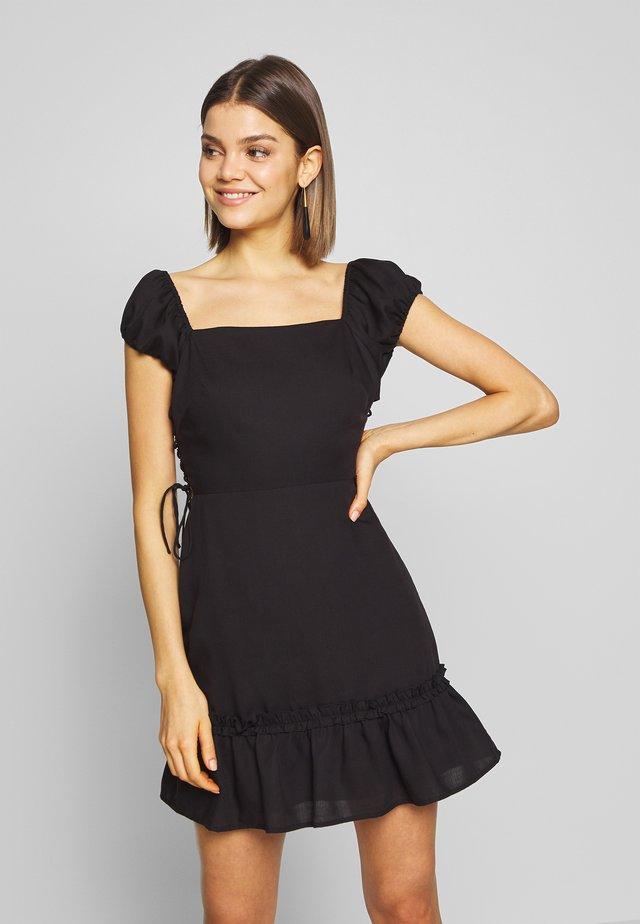 FRESIA - Day dress - black