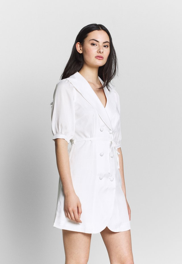 BELLA - Shift dress - ivory
