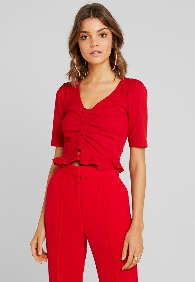 MEHMET - T-shirt imprimé - red