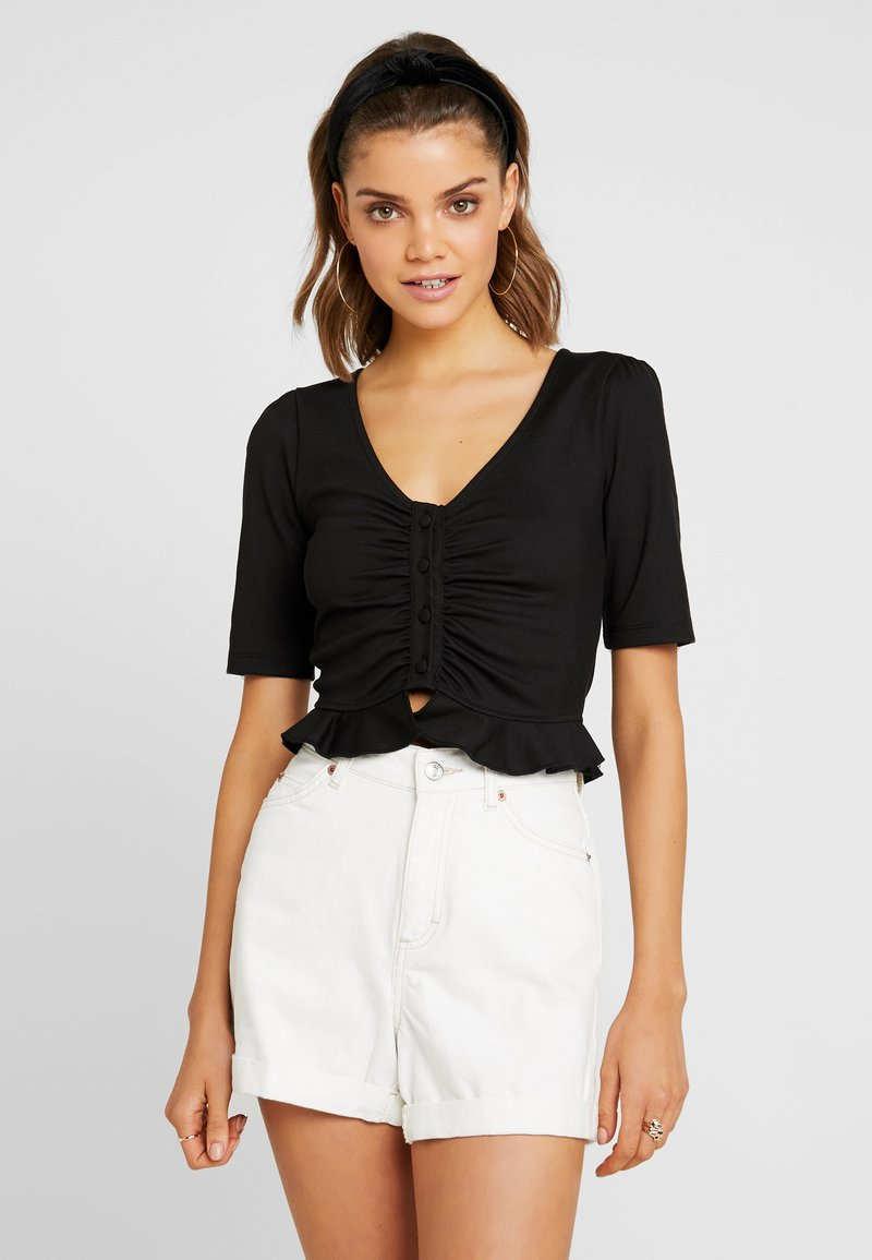 Fashion Union - MEHMET - Camiseta estampada - black