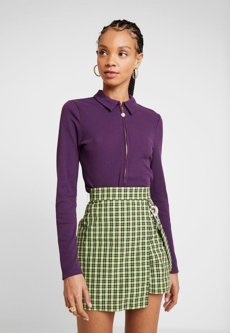Fashion Union - NASA - T-shirt à manches longues - purple