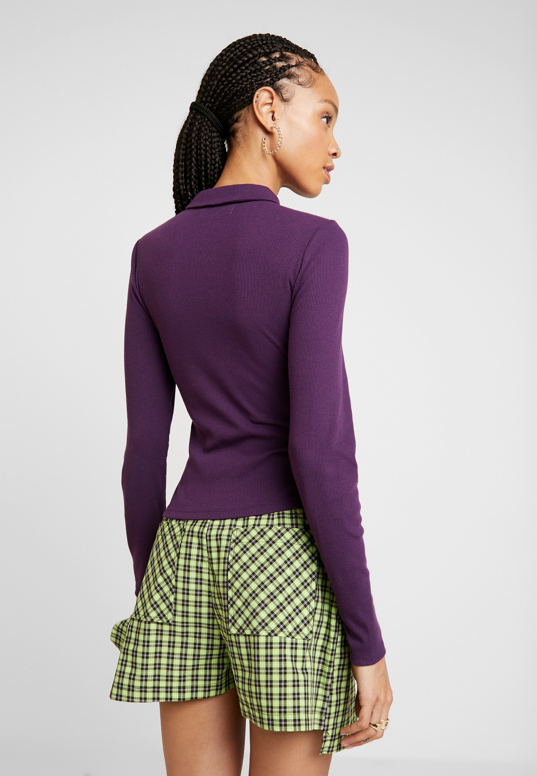 Fashion Union NASA - Topper langermet - purple