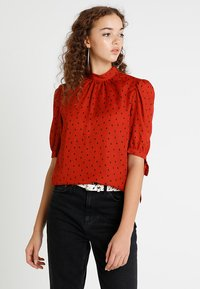 Fashion Union - RON - Bluzka - rust smudge - 0