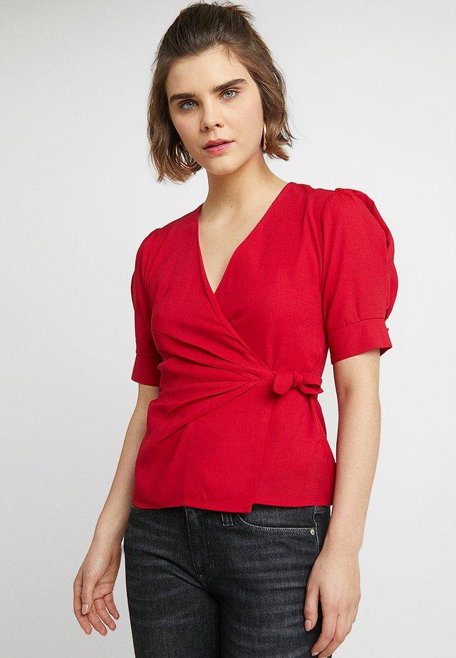 LINNEA - Blouse - red