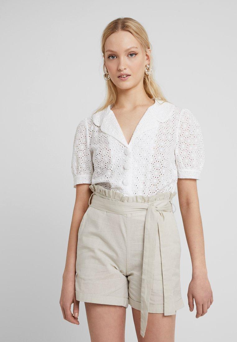 Fashion Union - YUNA - Koszula - ivory