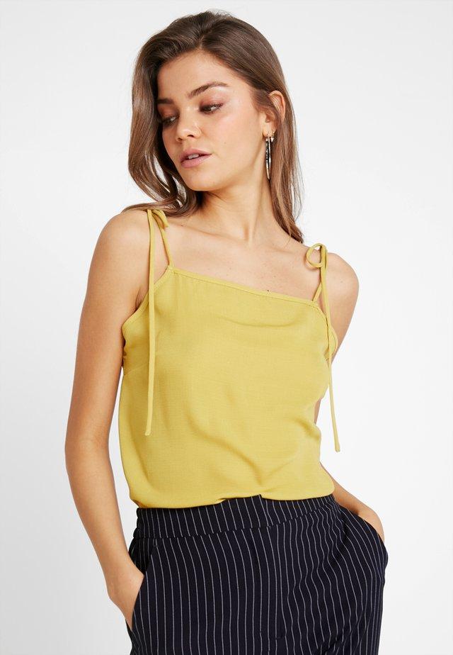 SINITA - Top - yellow