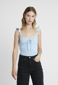Fashion Union - SHIRRY - Blouse - blue - 0