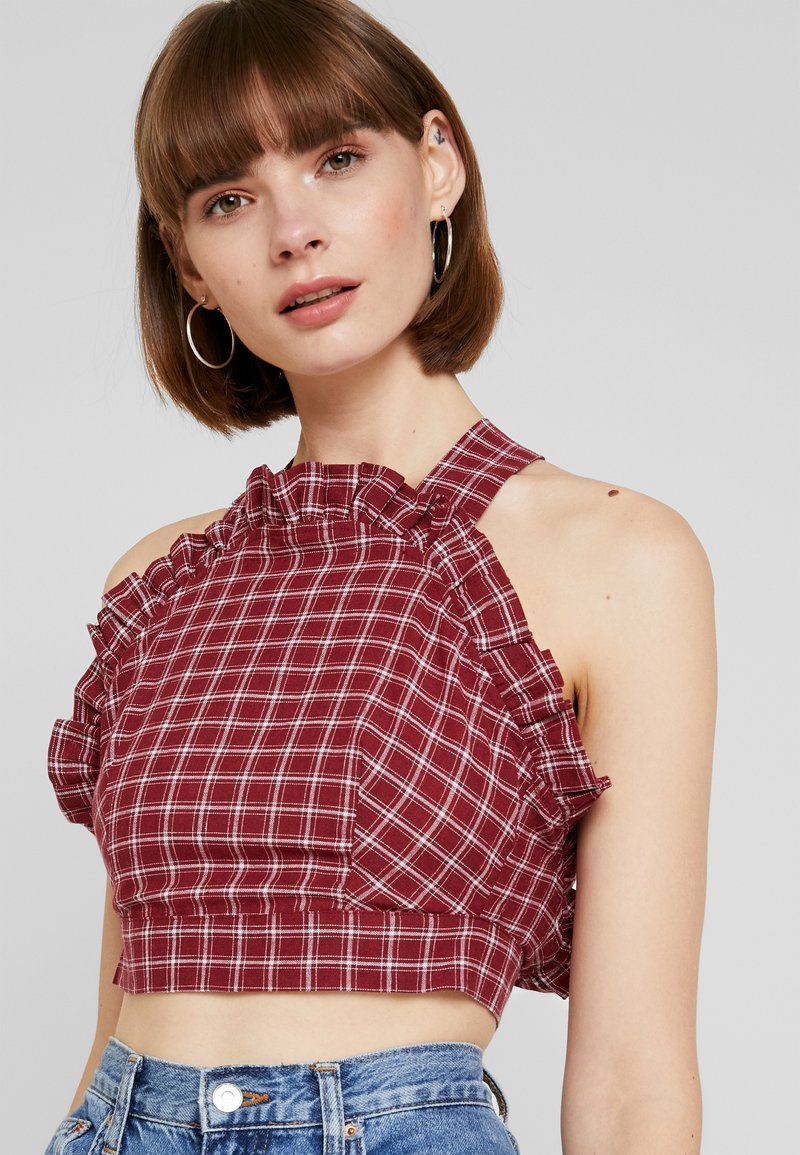 Fashion Union - RUSSIN - Blouse - red