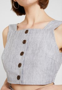 Fashion Union - SMARTY - Blouse - grey - 5