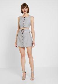 Fashion Union - SMARTY - Blouse - grey - 1