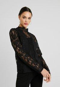 Fashion Union - NALIA - Bluser - black - 0