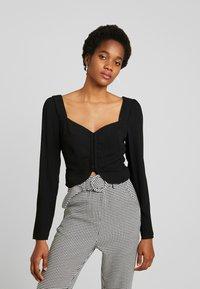 Fashion Union - NAMY - Bluser - black - 0