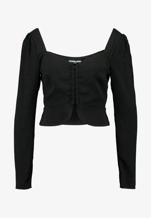 NAMY - Bluse - black