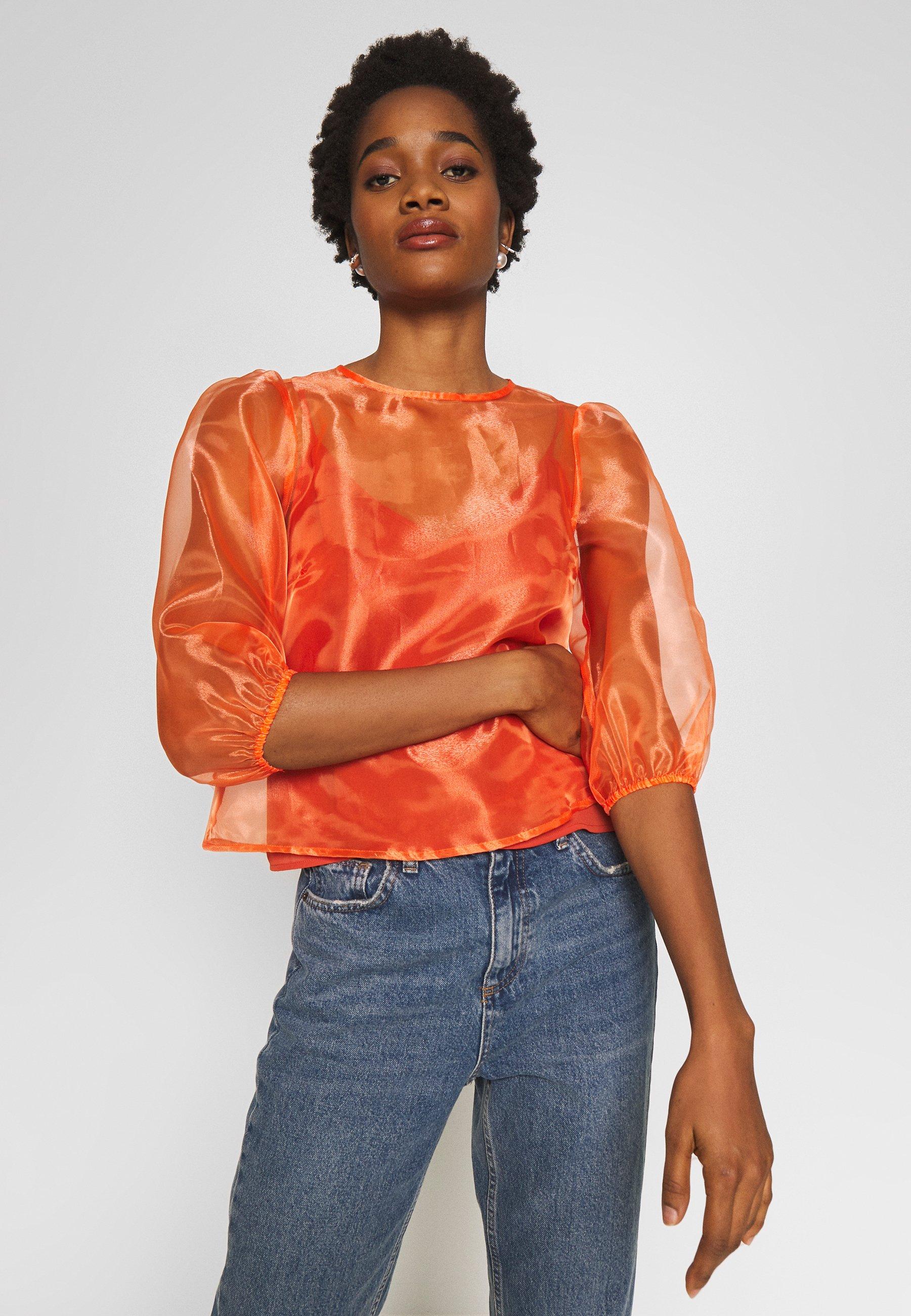 Fashion Union GEORGINA - Bluser - orange