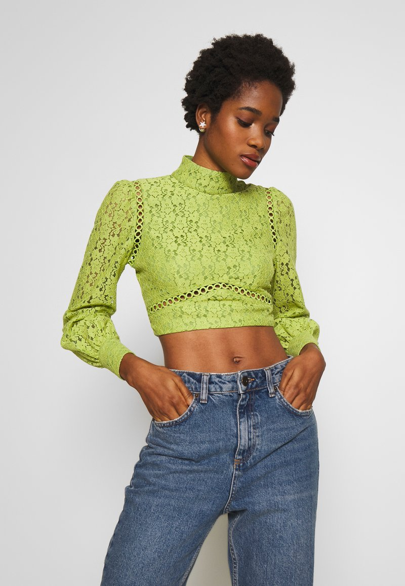 Fashion Union - LESSAY - Bluse - green