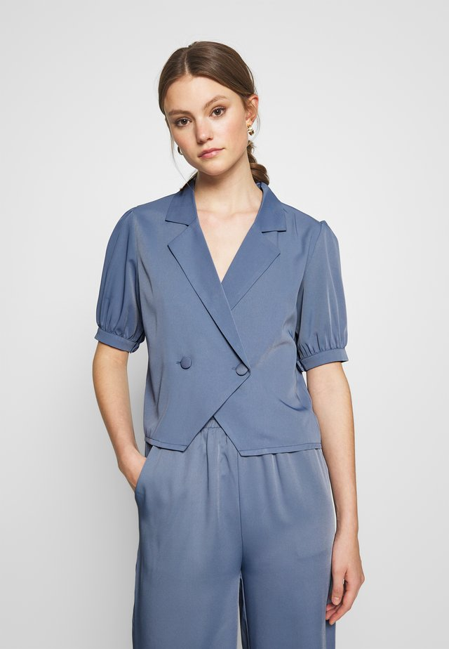 LIMA  - Button-down blouse - blue