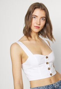 Fashion Union - UPDATE OF WISTER TOP EXCLUSIVE - Blůza - cream - 4