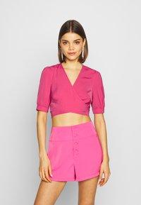 Fashion Union - GREECE - Blůza - hot pink - 0