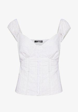 MERRIE - Blouse - white