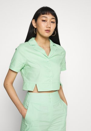 FRESH - Overhemdblouse - neo mint