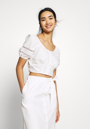 CAPOTE - Blouse - white