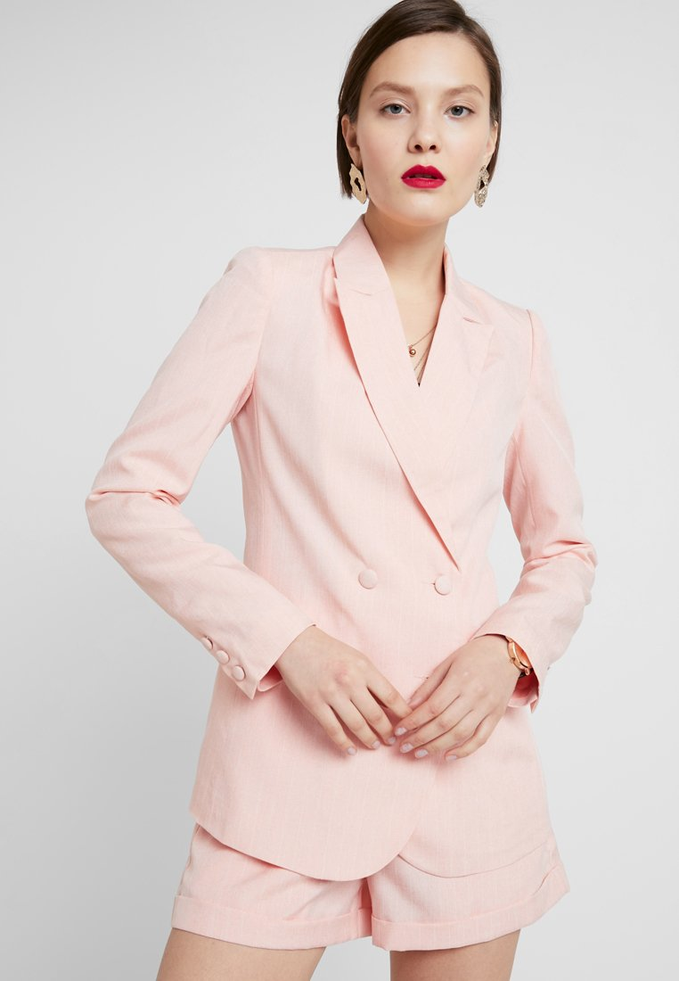 Fashion Union - BAKER - Blazer - peach