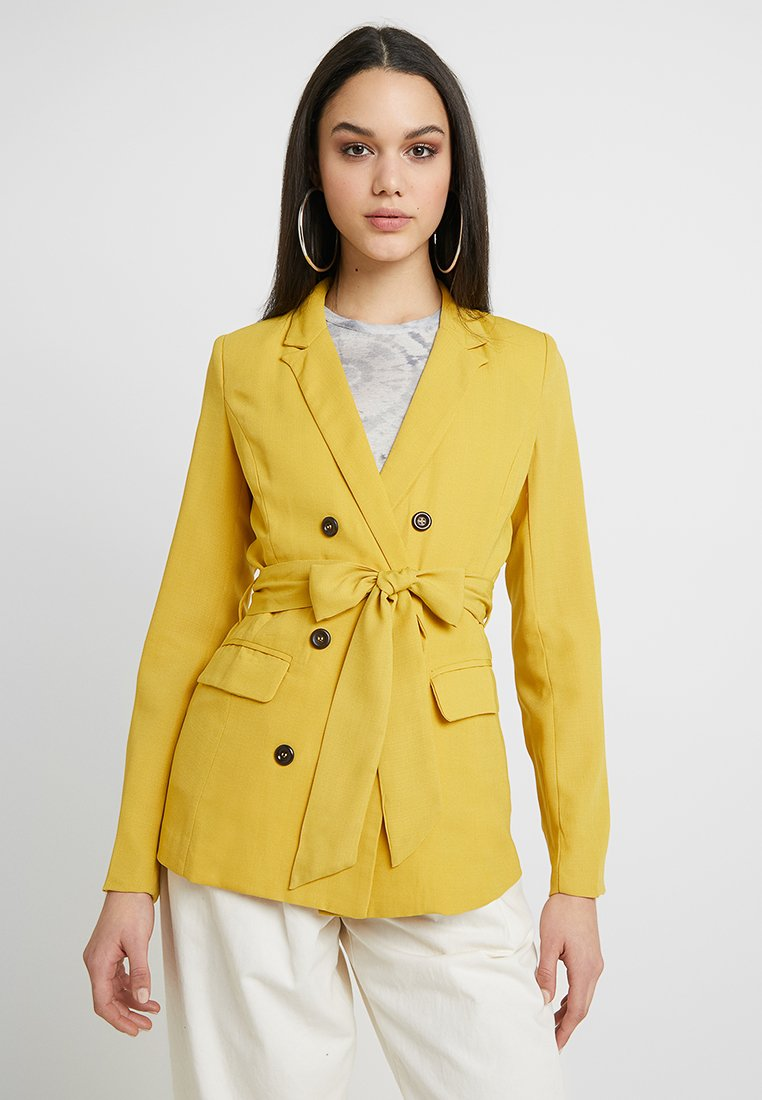 Fashion Union - TIMMY - Blazer - yellow