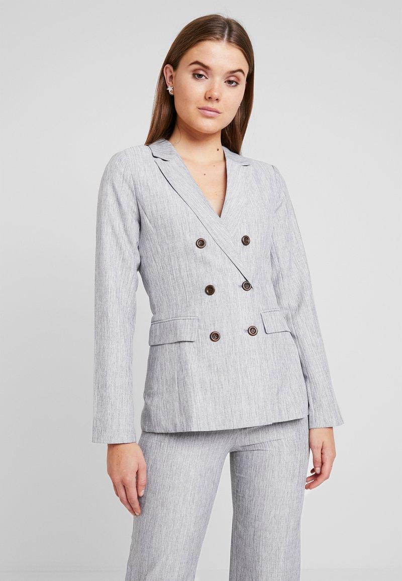 Fashion Union - NERDY - Blazer - grey
