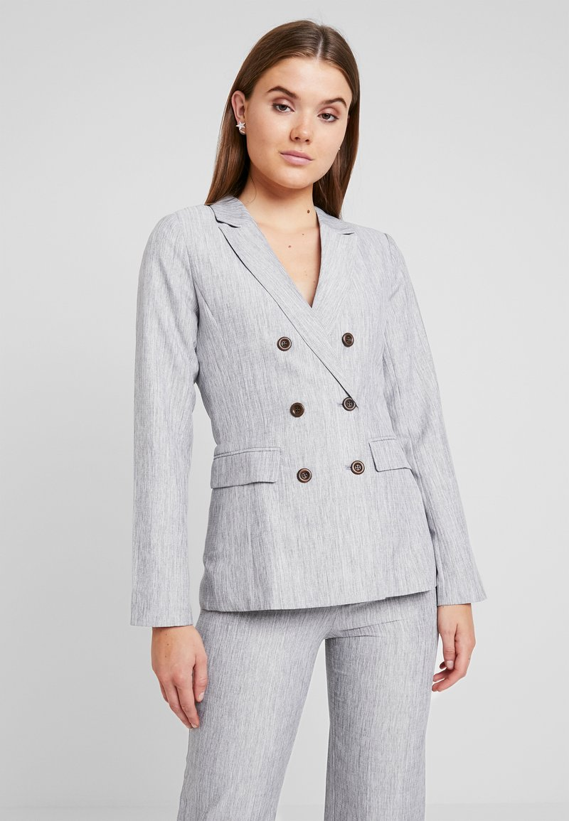 Fashion Union - NERDY - Blazer - grey