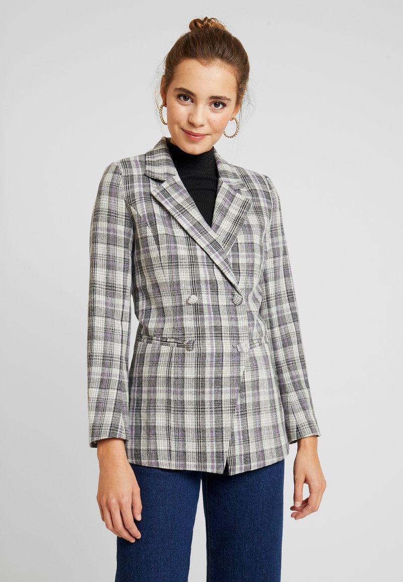 Fashion Union - CILLIAN - Blazer - grey