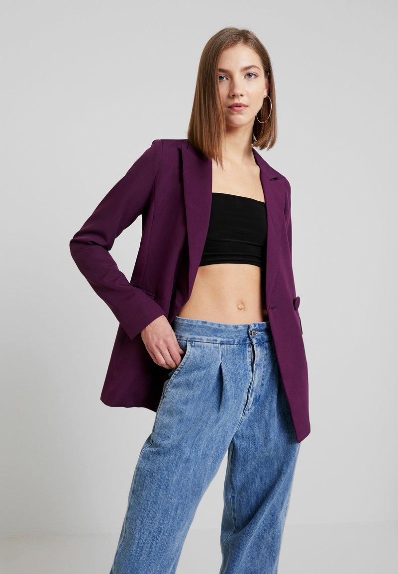 Fashion Union - SPOON - Sportovní sako - purple