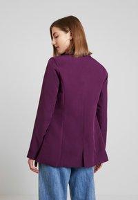Fashion Union - SPOON - Sportovní sako - purple - 2
