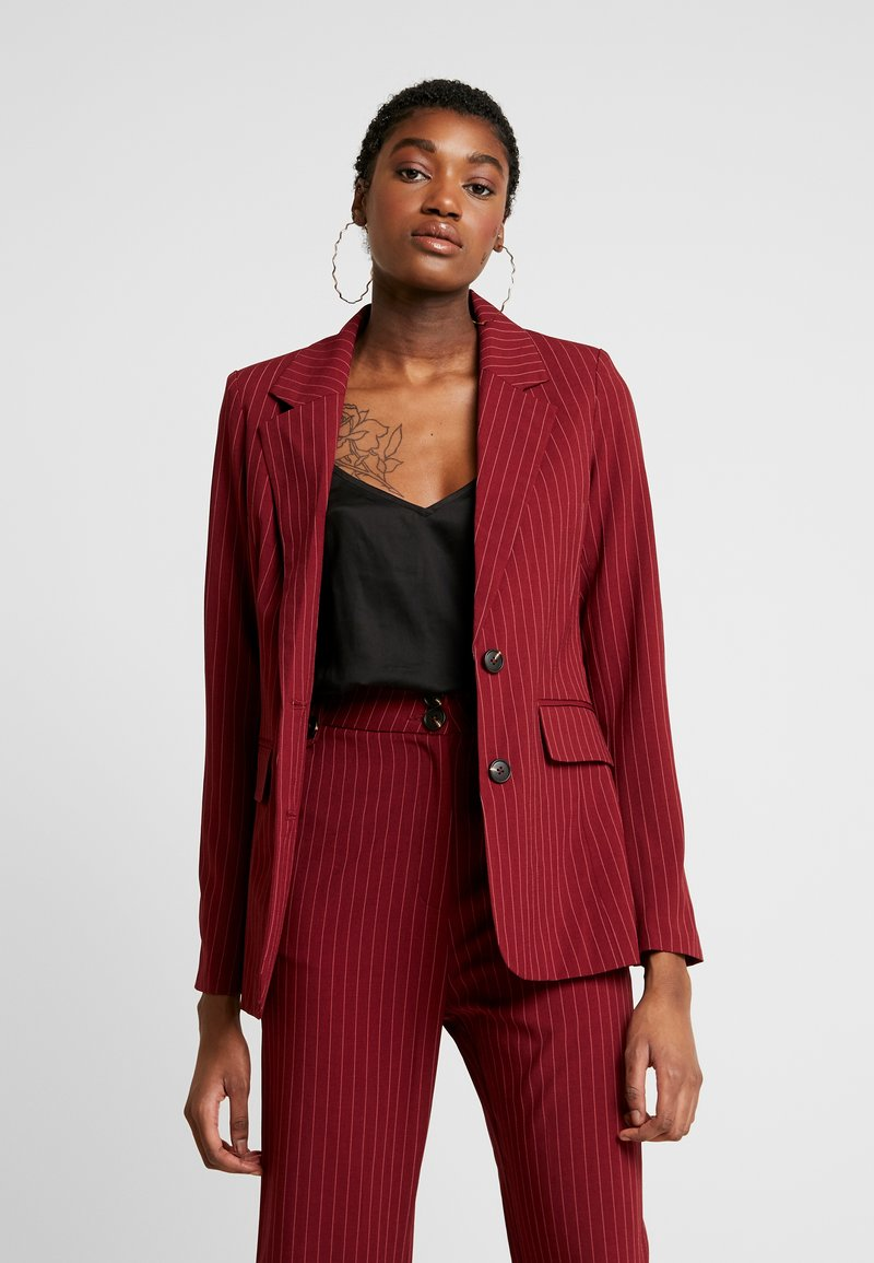 Fashion Union - VELMAS - Blazer - burugundy
