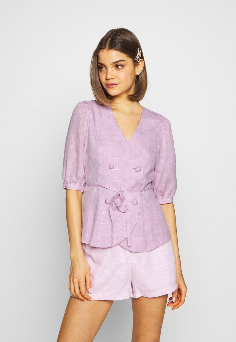 Fashion Union - BABBY BLAZER - Blazer - pink