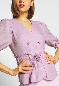 Fashion Union - BABBY BLAZER - Blazer - pink - 5