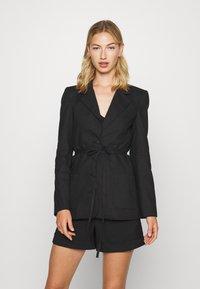 Fashion Union - BETHANY JACKET - Blazer - black - 0