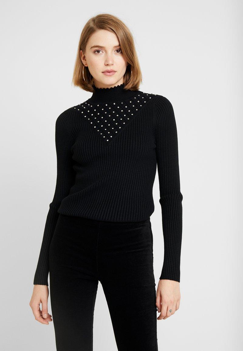 Fashion Union - BALSAM - Jersey de punto - black