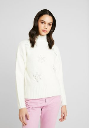 CHRISTMAS SNOWFLAKE - Jumper - cream