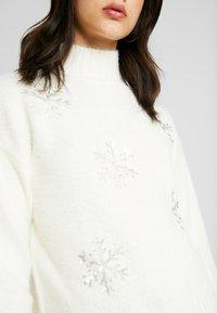 Fashion Union - CHRISTMAS SNOWFLAKE - Jumper - cream - 5