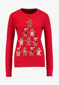 Fashion Union - CHRISTMAS GINGER BREAD TREE - Jumper - red - 4