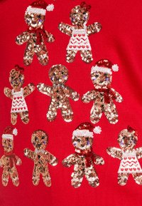 Fashion Union - CHRISTMAS GINGER BREAD TREE - Jumper - red - 5
