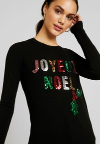 Fashion Union - CHRISTMAS JOYEUX NOEL - Jumper - black - 5