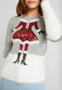 Fashion Union - CHRISTMAS CLAUS - Jumper - grey - 4