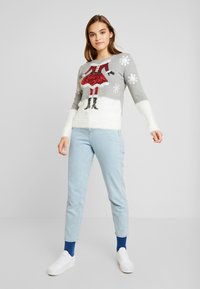 Fashion Union - CHRISTMAS CLAUS - Jumper - grey