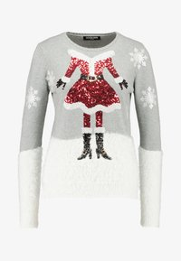 Fashion Union - CHRISTMAS CLAUS - Jumper - grey - 3