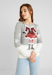 Fashion Union - CHRISTMAS CLAUS - Jumper - grey - 0
